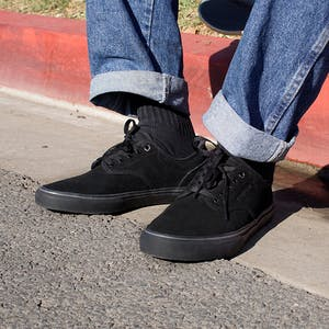 Emerica Wino G6 Skate Shoe - Black/Black