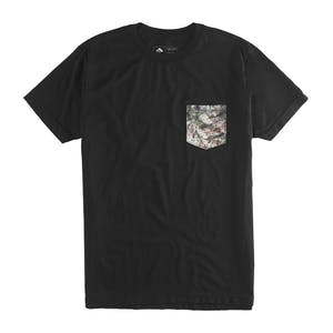 Emerica Herbal Camo Pocket T-Shirt - Black