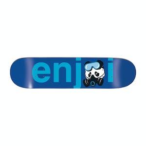 """Enjoi No Brainer 8.5"""" Skateboard Deck - Gas Mask"""