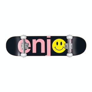 """Enjoi No Brainer 8.125"""" Complete Skateboard - Smiley"""