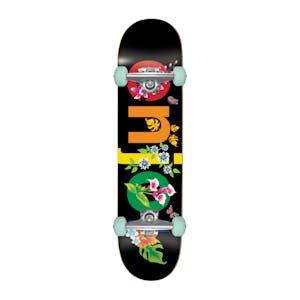 "Enjoi Flowers 8.0"" Complete Skateboard - Black"