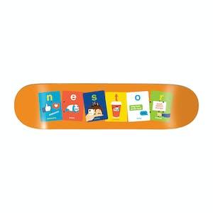 """Enjoi Flashcards 8.25"""" Skateboard Deck - Nestor"""