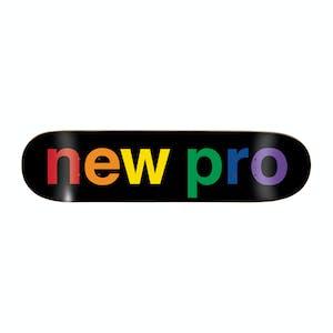 "Enjoi New Pro 8.5"" Skateboard Deck - Black"