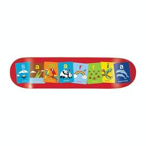 "Enjoi Flashcards 8.0"" Skateboard Deck - Samarria"