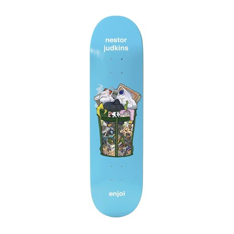 "Enjoi Judkins One Man's Trash 8.25"" Skateboard Deck"