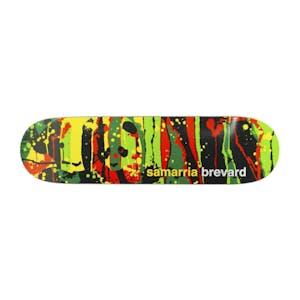 "Enjoi Samarria Splatter Panda 8.125"" Skateboard Deck"