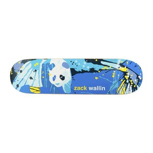 "Enjoi Wallin Splatter Panda 8.5"" Skateboard Deck"
