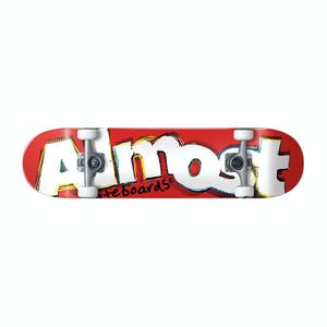 """Almost Neo Express 8.0"""" Complete Skateboard - Red"""
