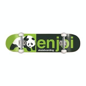 "Enjoi Half & Half 8.0"" Complete Skateboard - Green"