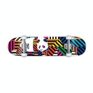 "Enjoi Panda Stripes 7.75"" Complete Skateboard"