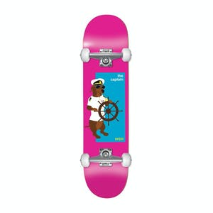 """Enjoi The Captain Youth 7.25"""" Complete Skateboard - Pink"""