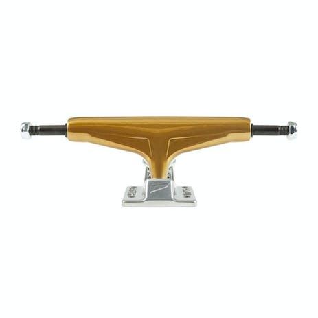 Tensor Mag Light Glossy Skateboard Trucks - Gold/Silver