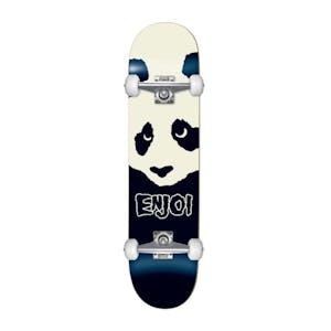 "Enjoi Misfit Panda 7.625"" Complete Skateboard - Black"