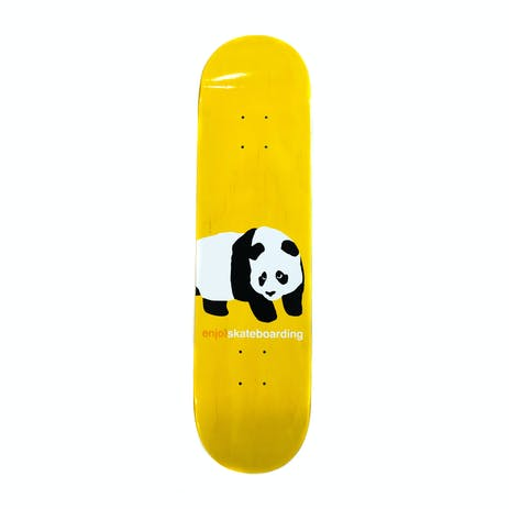 "Enjoi Peekaboo Panda 8.0"" Skateboard Deck - Yellow"