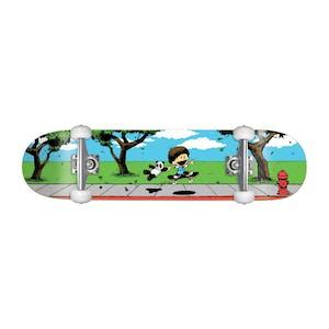 "Enjoi BFF 7.75"" Complete Skateboard - Blue"