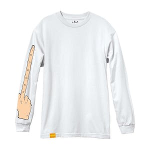 Enjoi The Bird Long Sleeve T-Shirt - White
