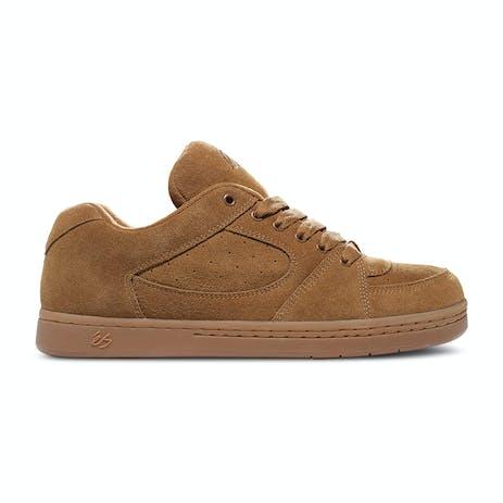 Es Accel OG Skate Shoe - Brown/Gum