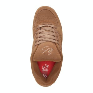 Es Accel OG Skate Shoe - Brown/Gum