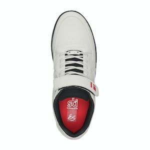Es Accel Slim Plus Skate Shoe - White/Black