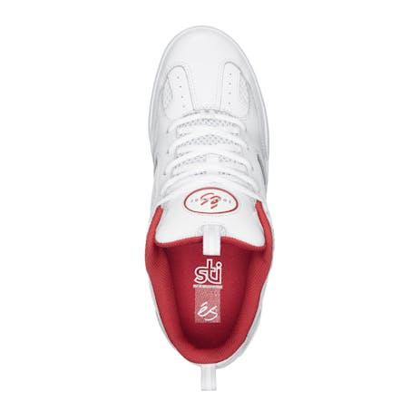 Es Quattro Skate Shoe - White