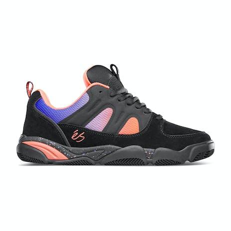Es Silo Skate Shoe - Black/Purple