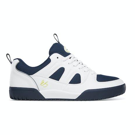 Es Silo SC Skate Shoe - White/Navy