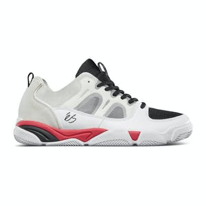 Es Silo Skate Shoe - White/Black/Red