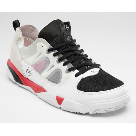 Es Silo Skate Shoe - White/Black/Red