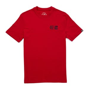 etnies x Plan B Spool T-Shirt - Red