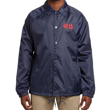 etnies x Plan B Needle Coaches Jacket - Navy
