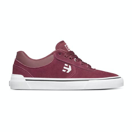 etnies Joslin Vulc Skate Shoe - Burgundy