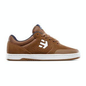 etnies Marana Skate Shoe - Brown/Navy