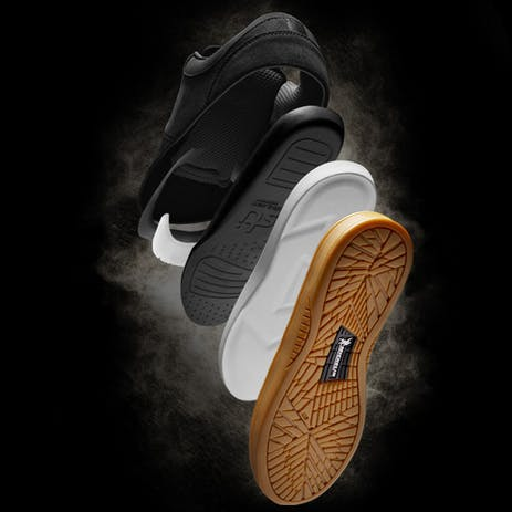 etnies Joslin Pro Skate Shoe - Brown / Gum