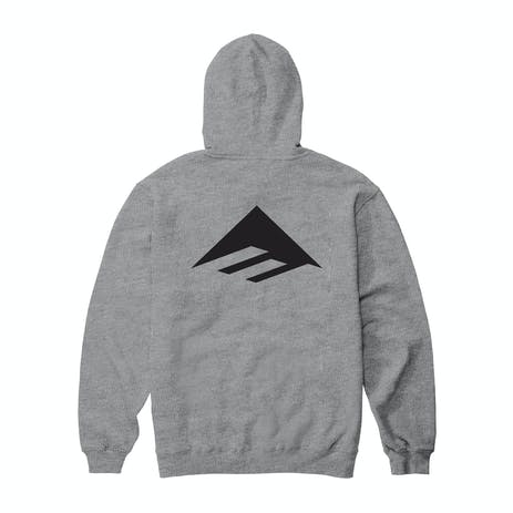Emerica Pure Triangle Hoodie - Grey/Heather