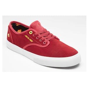 Emerica x Santa Cruz Wino Standard Skate Shoe - Red/White