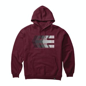 etnies After Burn Hoodie - Burgundy