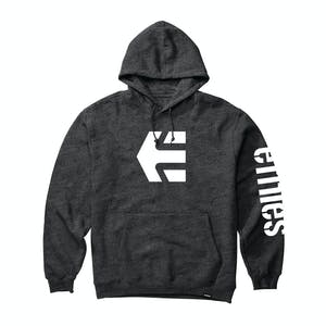 etnies Icon Hoodie - Charcoal/Heather