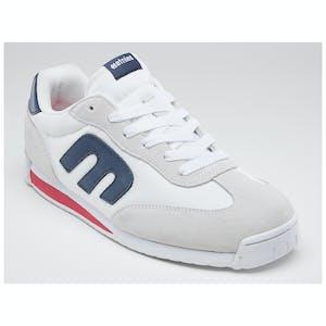 etnies Lo Cut CB Skate Shoe - White/Navy