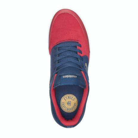 etnies Marana Sheckler Skate Shoe - Red/Blue/White