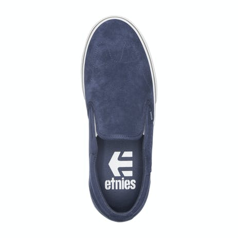 etnies Marana Slip Skate Shoe - Navy/White