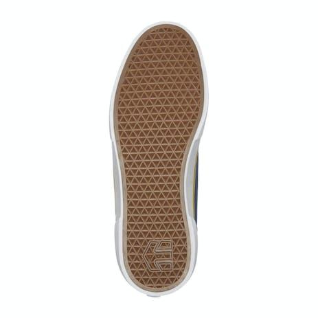 etnies x Sheep Windrow Vulc Skate Shoe - Navy/Yellow/White
