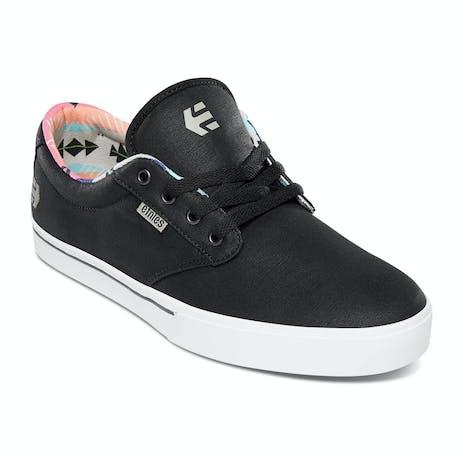 etnies Jameson 2 Eco Skate Shoe - Black/White/Navy