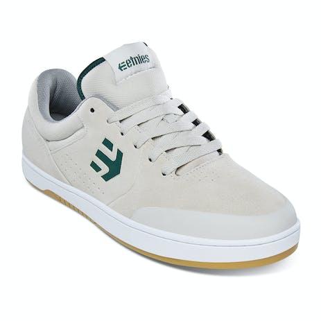 etnies Marana Skate Shoe - White/Green