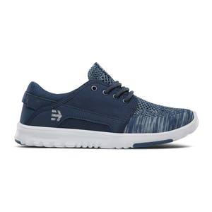 etnies Scout Yarn Bomb Women's Shoe - Navy/Blue