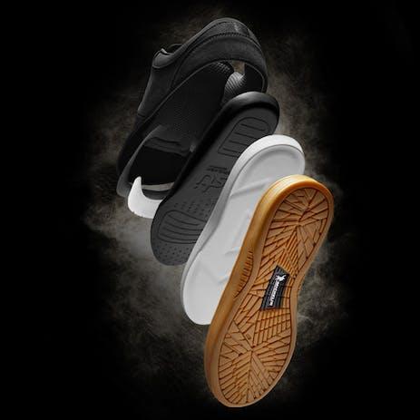 etnies Joslin Pro Skate Shoe - Black/Gum