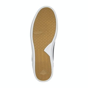 Emerica Gamma Skate Shoe - Black/White/Gum