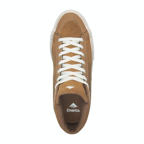 Emerica Omen Hi Skate Shoe - Distressed Wash