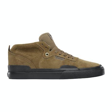 Emerica Pillar Skate Shoe - Brown/Black