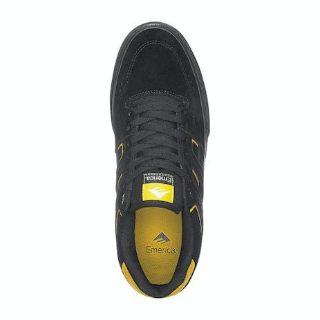 Emerica Tilt G6 Vulc Skate Shoe - Black/Yellow/Black