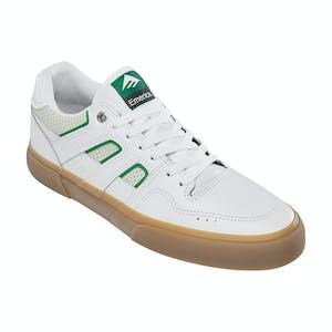 Emerica Tilt G6 Vulc Skate Shoe - White/Gum